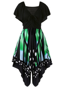 Casual Hot Butterfly Shape Dress (S - 2XL)