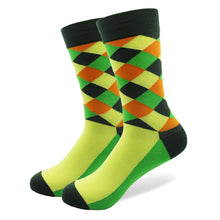 5 Pairs Crazy/ Fun/ Happy/Colorful Socks For Men - Diamond