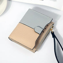 Two Tone Wallet in 6 different Styles