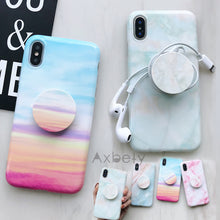 Marble Look Case for iPhone XS Max, XR
