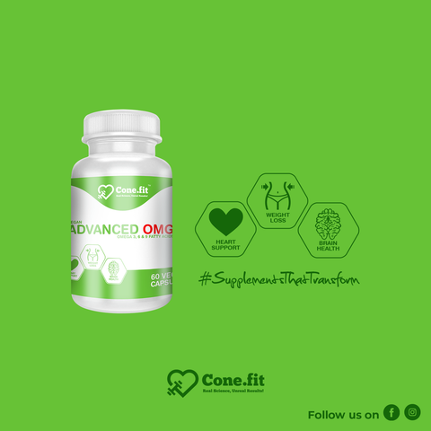 Offer: 3 x Vegan Advanced OMG 500mg (60 tabs) for Rs. 999 only