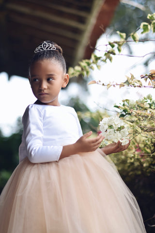 Image of Olivia flower girl dress