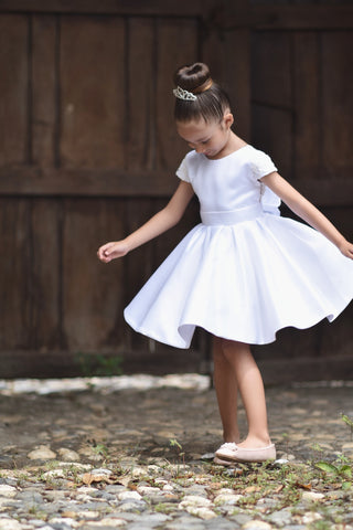 Amelia flower girl dress