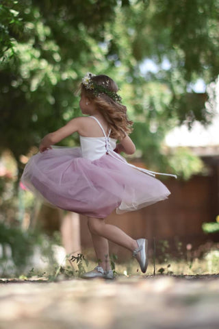 Image of Annie flower girl dress