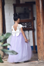 Load image into Gallery viewer, Lilac flower girl dress