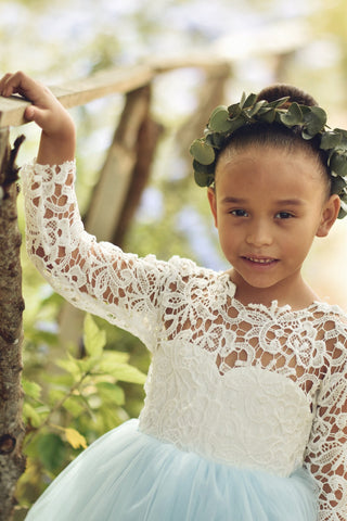 Mia flower girl dress