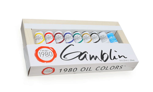 Gamblin 1980 Oils Introductory Set