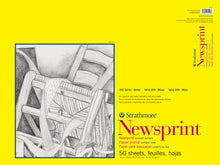 Strathmore Newsprint Pads 300 Series