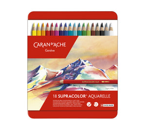 Caran d'Ache Supracolor Watersoluble Pencil Metal Box Sets