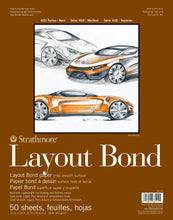 Strathmore Layout Paper Pads 400 Series