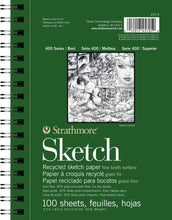 Strathmore Recycled Sketch Pads 400 Series