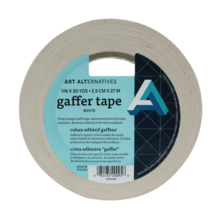Gaffer Tape Black and White