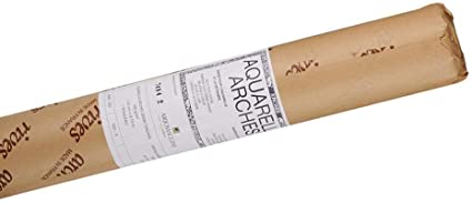 Arches 156lb Watercolor Paper Roll 51