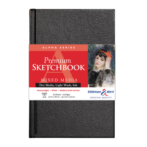 Stillman & Birn, Alpha Series Hardbound Sketchbooks, Various Sizes