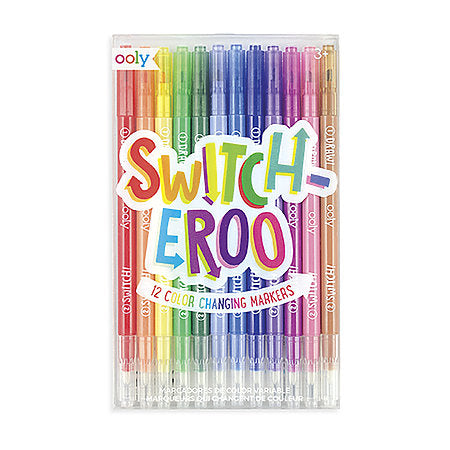 Switch-eroo Color Changing Marker Set
