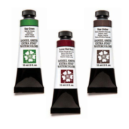 Daniel Smith Extra-Fine Watercolors - 15ml - Green's and Earthtones