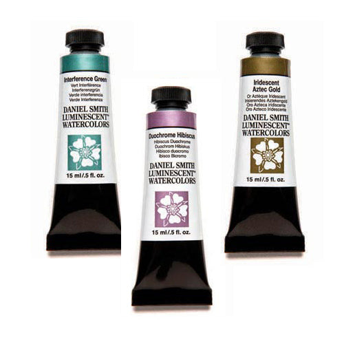 Daniel Smith Extra-Fine Watercolors - 15ml - Duochromes, Iridescents, Pearls and Interference Colors