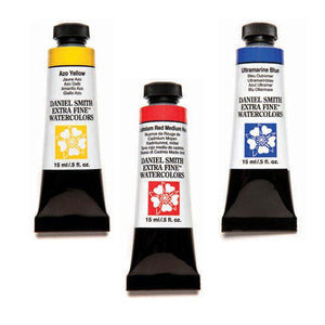 Daniel Smith Extra-Fine Watercolors - 15ml - Red's, Yellow's, Blue's and Mixing Colors