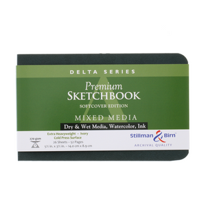 Stillman & Birn, Delta Series Softbound Sketchbooks, Various Sizes