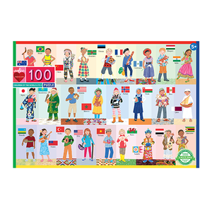 Children of the World A to Z Puzzle (100 Pieces)