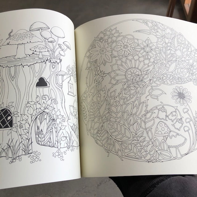 - Enchanted Forest Coloring Book – ARCH Art Supplies