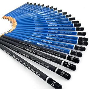 Staedtler Mars Lumograph Drawing Pencils