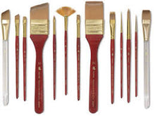 Princeton Heritage Series 4050 Synthetic Sable Brushes