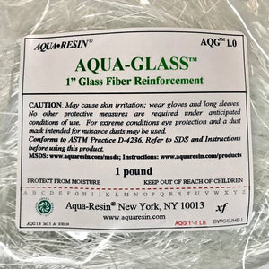 "Aqua-Glass, 1"" Chop by Aqua•Resin"