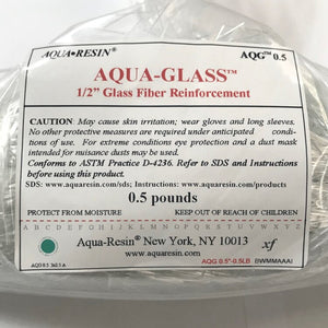 "Aqua-Glass, 1/2"" Chop by Aqua•Resin"