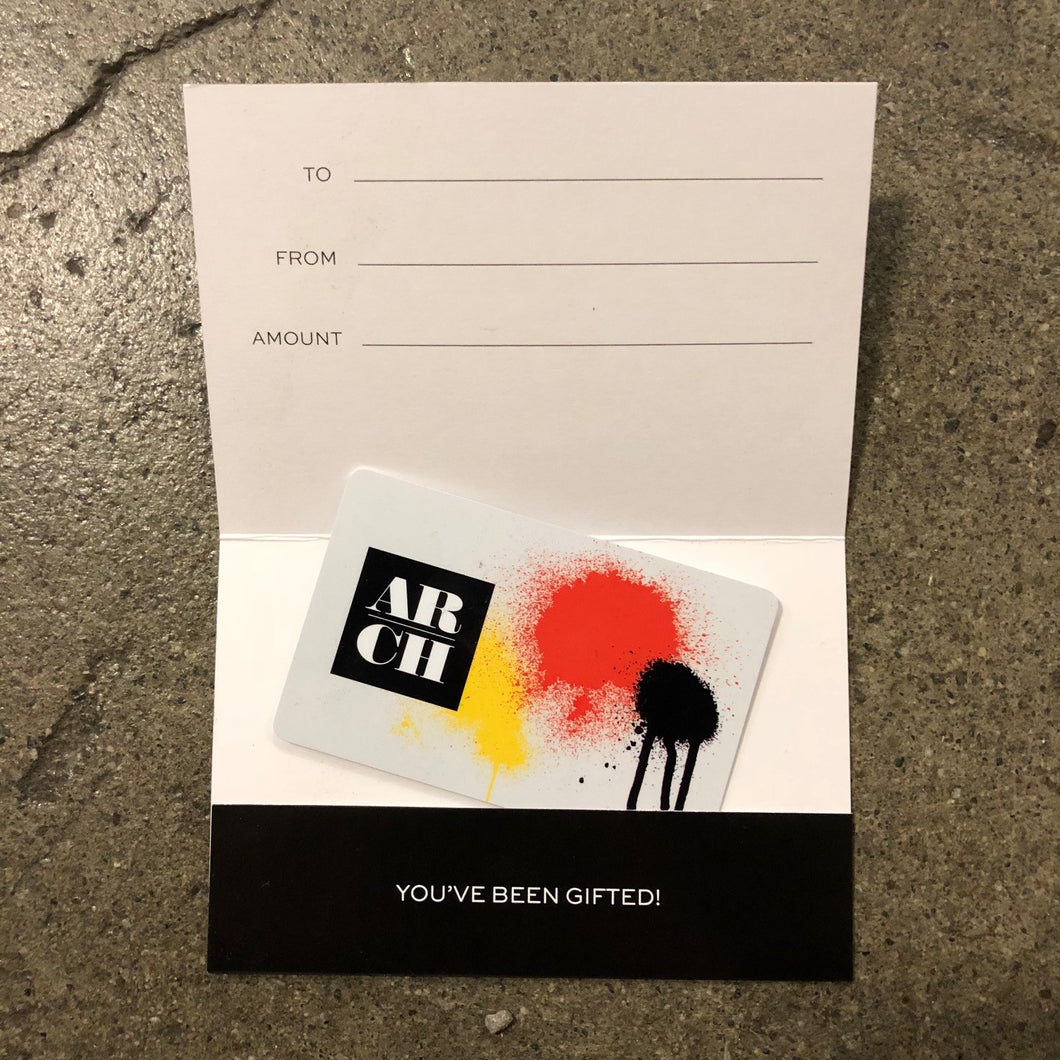 ARCH Supplies Gift Card