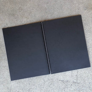 Carb' On Black Paper Art Pads, Various Sizes