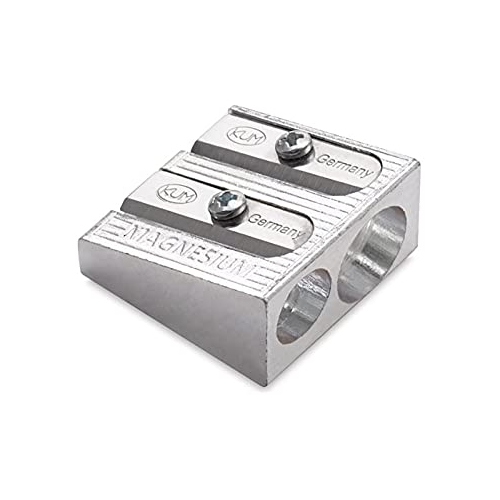 Magnesium-Alloy Two Hole Sharpener