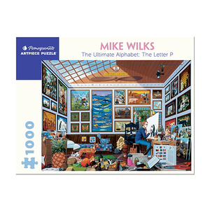 Mike Wilks - The Ultimate Alphabet Puzzle: Letter P (1000 Pieces)