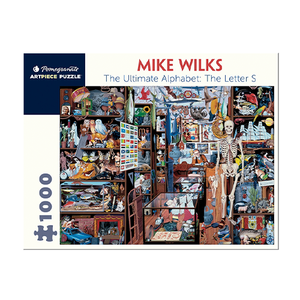 Mike Wilks - The Ultimate Alphabet Puzzle: Letter S (1000 Pieces)