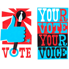 VoteVoteVote - Pack of 56 Postcards