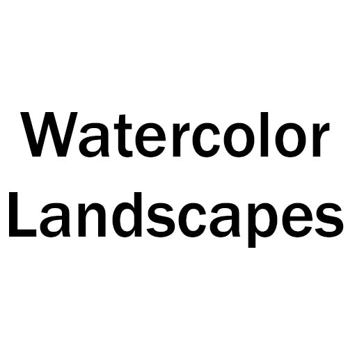 Watercolor Landscapes - Root Division