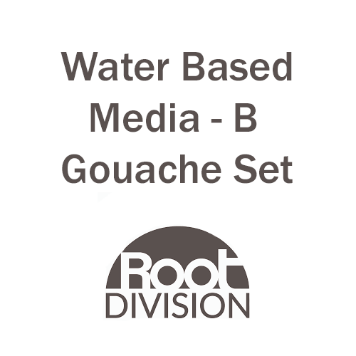 Water Based Media Gouache Set - Root Division