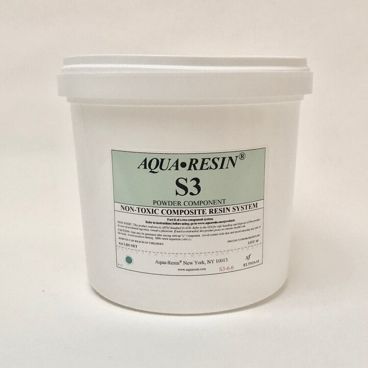 S3 Non Toxic Composite Resin System Powder by Aqua•Resin