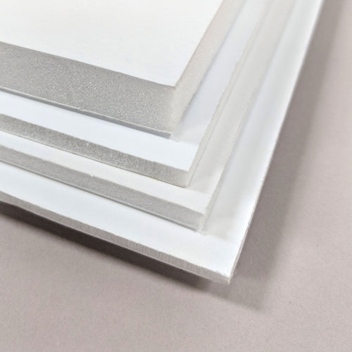 White Foamboards - Various Sizes