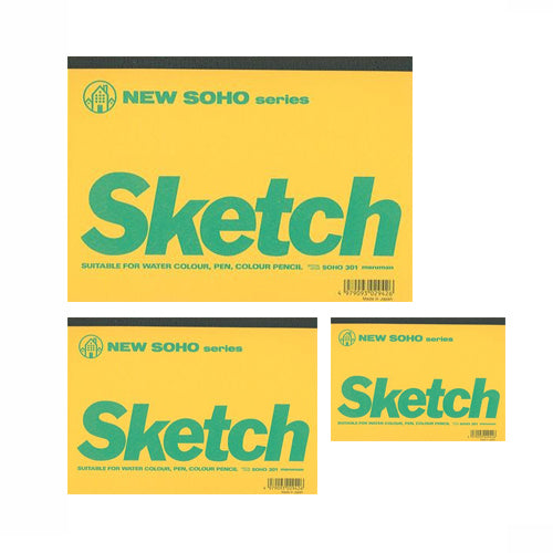 New Soho Series Sketch Pads