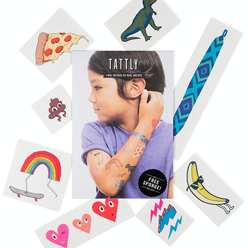 Tattly - Kids Mix Temporary Tattoo's