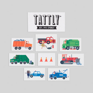 Tattly - Traffic Mix Temporary Tattoo's