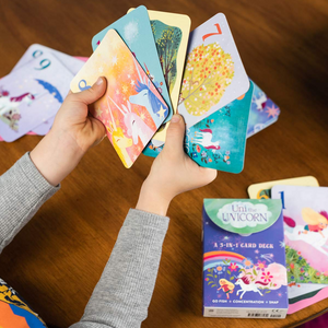 Uni The Unicorn 3-In-1 Card Deck