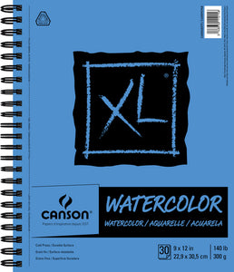 Canson XL Watercolor Pads