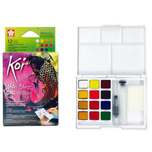 Koi Creative Flourescent and Pearlescent Watercolor Sets