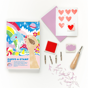 Carve-A-Stamp Kit by Yellow Owl Workshop