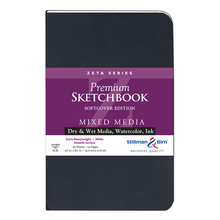 Stillman & Birn, Zeta Series Softbound Sketchbooks, Various Sizes