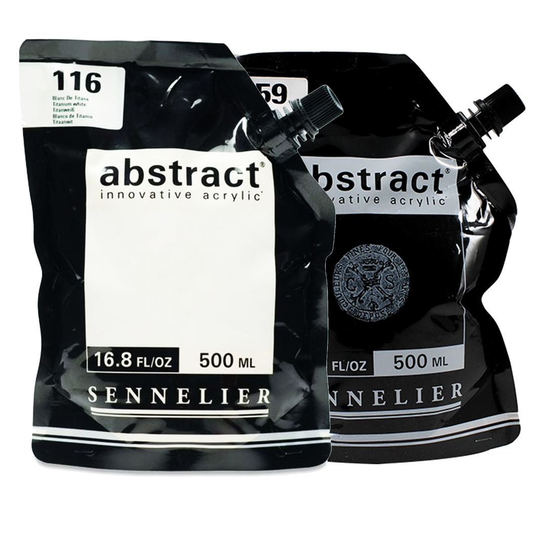 Sennelier Abstract Acrylics Satin 500ml