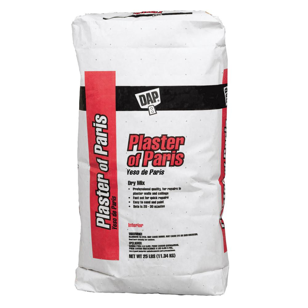 Plaster of Paris 25lb, Dry
