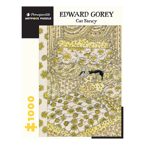 Edward Gorey Cat Fancy Puzzle (1,000 Pieces)